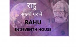 राहु सातवें घर में (Rahu in seventh house)